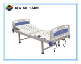 (A-98) Cama de hospital manual Double-Function con la pista de la base del ABS