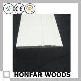 LVL do material da decoração com moldar de contorno da pintura branca