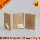 Palillo personalizado caliente del USB del PVC del regalo con la insignia grabada (YT-6660)