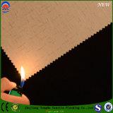 Revestidos Flame-Resistant do poliéster do jacquard enegrecem para fora a tela da cortina