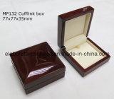Caixa de embalagem de nível elevado de Jewellry da madeira contínua da forma de China