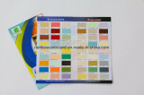 Kundenspezifischer gefalteter Drucken-Lack-Farben-Katalog