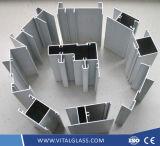 입히는 분말 또는 양극 처리하거나 전기 이동 합금 또는 열 틈 또는 Wood-Grain 또는 산업 문과 Windows를 만드는 내밀 알루미늄 또는 알루미늄 밀어남 단면도
