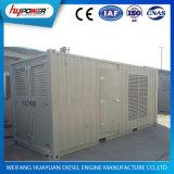 Groupe électrogène 500kVA/400kw diesel à faible bruit de Weichai