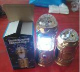 태양 여행 투어 야영지 천막 LED 야영 태양 LED 램프