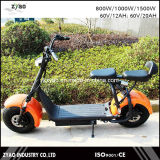 """Das rodas elétricas adultas sem escova do """"trotinette"""" 2 dos Cocos 1000W da cidade """"trotinette"""" elétrico de Harley"""