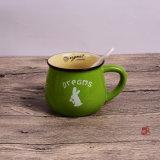 Frühstück-Cup-Kaffeetasse-Milch-Cup-kundenspezifisches Firmenzeichen-Frühstück-Cup