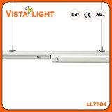 Suspension blanche chaude allumant la lumière pendante linéaire pour des usines