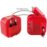 ユニバーサル2.1Aは充電器EUのプラグの壁の充電器車の二倍になる