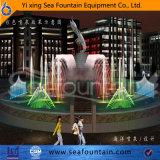 Fuente cambiante de la música de la lámpara del color con la escultura