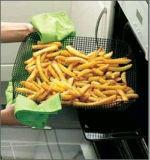2 Bandeja para hornear sin horno para panadería Crispy Chip Grill Basket