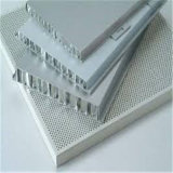 Borde cerrado Ahp gris plateado/el panel de aluminio del panal (HR445)