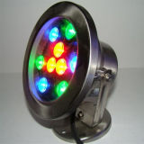 Des China-CER Unterwasser-LED Lichter der anerkannten Swimmingpool-LED hellen Lampen-wasserdichten IP68 multi Farben-für Brunnen (HL-PL18)
