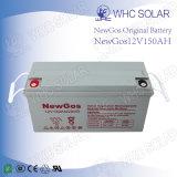 태양 전지 12V 150ah 깊은 주기 태양 에너지 건전지