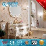 Шкаф ванной комнаты самого лучшего дуба типа цены западного материальный (BF-8070)