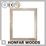 Frame de retrato rústico da madeira contínua do estilo para o presente