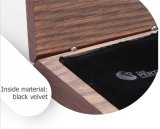 Caja de presentación electrónica de madera robusta de los regalos de la simplicidad