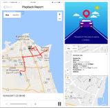 Perseguidor antirrobo del GPS de la mini motocicleta con el regulador alejado