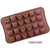 Moulage et Bakeware de DIY pour le chocolat et le biscuit de sucrerie