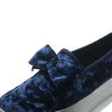 Fusselbowknot-Qualitäts-beiläufige Schule-Frauen-Dame-Kursteilnehmer-Schuhe