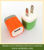 OEM 디자인 5V 1A 5W는 저희 플러그 USB 가정 충전기를 고쳤다