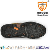 Ботинки высокой лодыжки верблюда взбираясь делают кожу водостотьким Nubuck Hiking ботинки безопасности