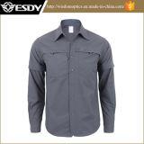 Рубашка твердого напольного Breathable Быстро-Засыхания людей Long-Sleeved