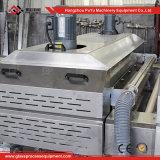 Arruela de vidro horizontal com controle do PLC