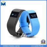 Tw64 impermeabilizan la pulsera elegante de la aptitud del podómetro del monitor del ritmo cardíaco de Bluetooth del reloj