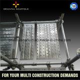 Andaime durável para a construção de edifício que modela o sistema do andaime de Ringlock