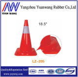 Cone profissional da base do preto da segurança de estrada do tráfego do fabricante