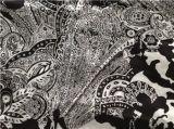 Cópia do Cdc da seda no projeto flor preta/branca