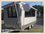 Carro móvil del alimento de Foodtruck del diseño de la manera de Ys-400A para la venta