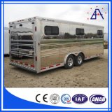 Remorque en aluminium de cheval d'usine de la Chine/profil en aluminium