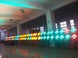 Levantamiento del semáforo portátil solar / Semáforo móvil solar