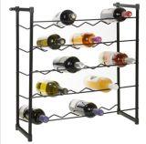Condizione libera accatastabile del metallo accessorio della barra di Champagne delle bottiglie delle cremagliere 30 o 60 del vino