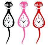 Orologio di quarzo acrilico dell'orologio di parete di modo