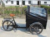 Derailleurの黒いカラー貨物バイク