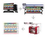 Máquina arriba eficiente caliente de la prensa del calor de /Lanyard de la cinta de la sublimación del tinte de la venta