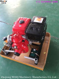 Пожарный насос Huaqiu 13HP с двигателем Lifan
