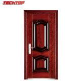 Diseño de acero exterior de la puerta del metal de la entrada de la seguridad TPS-027 solo