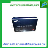 Изготовленный на заказ электронный продукт упаковывая коробки косметического мобильного телефона микстуры бумажные