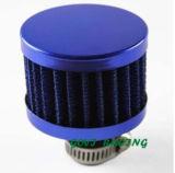Filtro azul da entrada de ar do carro do filtro de ar 13mm da motocicleta