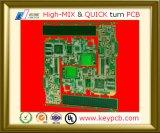 1 Schicht bis 20 Schicht gedruckte Schaltkarte für elektronische Produkte für Fernsehapparat-Hauptplatine