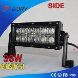 Accesorios Auto 36W 8inch para la barra ligera del trabajo del coche IP68 LED