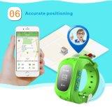 Reloj elegante del teléfono del deporte del reloj de la posición del perseguidor del cabrito de los niños el SOS G/M GPS para más viejos niños