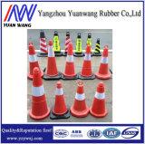 PVCトラフィックの円錐形に警告する道