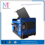 Kleines Format-UVflachbettdrucker mit LED-Lampe