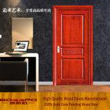 Одиночной высеканная древесиной открыть дверь качания (GSP2-023)