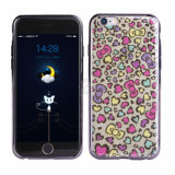 Caja de encargo del teléfono del doble IMD TPU para el iPhone 7